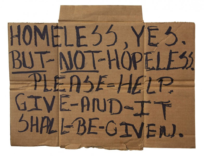 Homeless, not Hopeless. Coral Gables, Florida 1-11-11