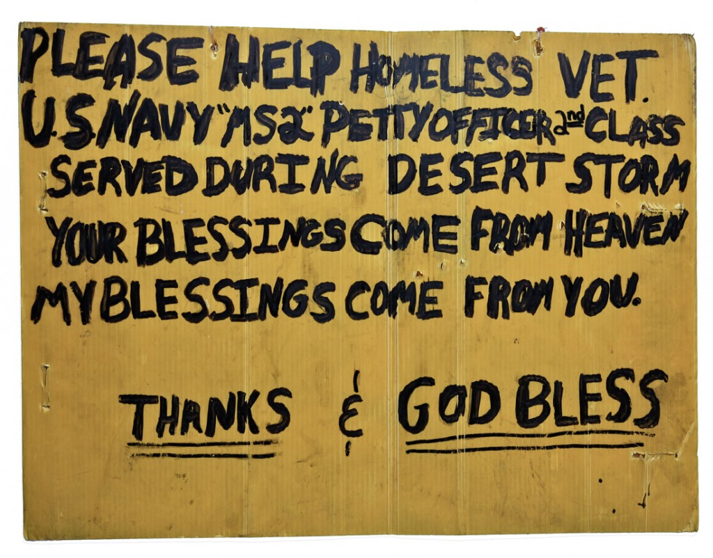 Homeless Vet in Chicago